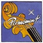 Permanent cello string D