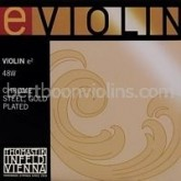 Thomastik e2/mi2 vioolsnaar E verguld