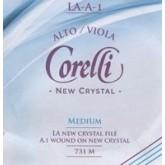 Crystal viola string  A steel/alum.