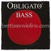 Obligato string double bass G-3 (fifth tuning)