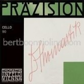 Praezision cello string fractional sizes G