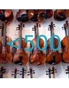 Violins up to 500€