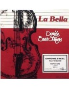 La Bella double bass strings