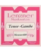 Lenzner Bas/Tenor-gamba